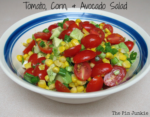 Tomato Corn Avocado Salad