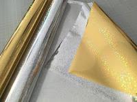 Gold und Silber Veredelungsfolie