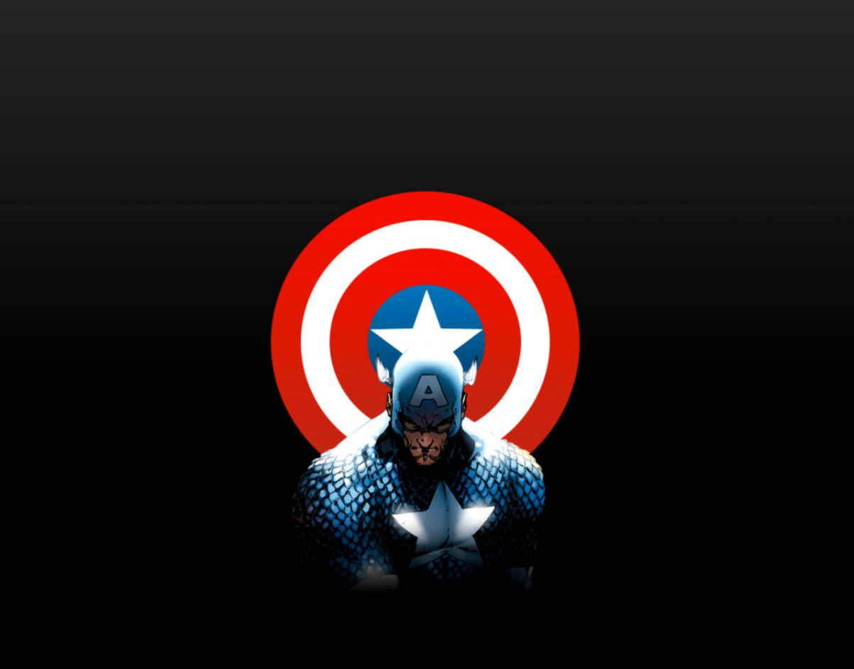 Captain America Shield Marvel Comics Hd Wallpaper Movie Wallpapers