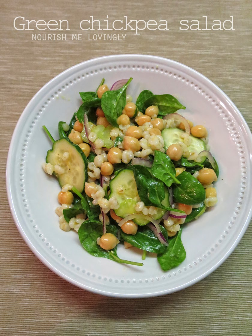 green_chickpea_salad