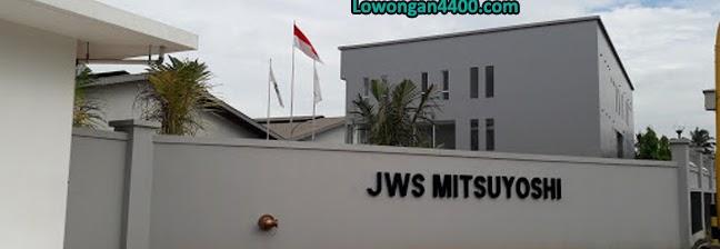 Lowongan Kerja PT. Mitsuyoshi Manufacturing Indonesia (PT. JWS Misuyoshi) Purwakarta