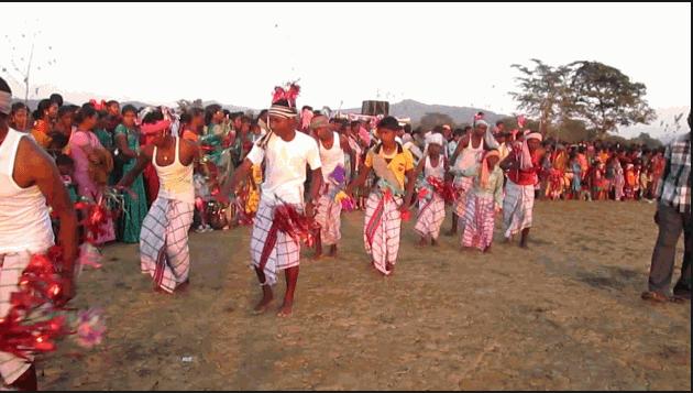 Santali Dantha dance