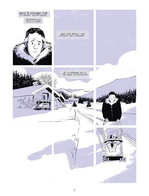 "Page de ""DESINTEGRATION, journal d'un conseiller à Matignon"" de Matthieu Angotti et Robin Recht chez Delcourt"