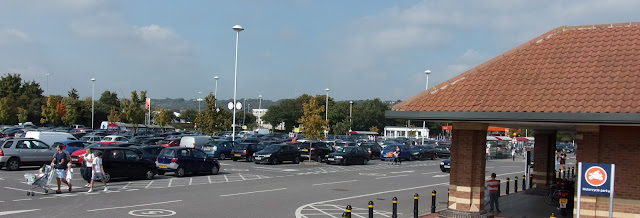 sainsburys farlington car park B+M homewares
