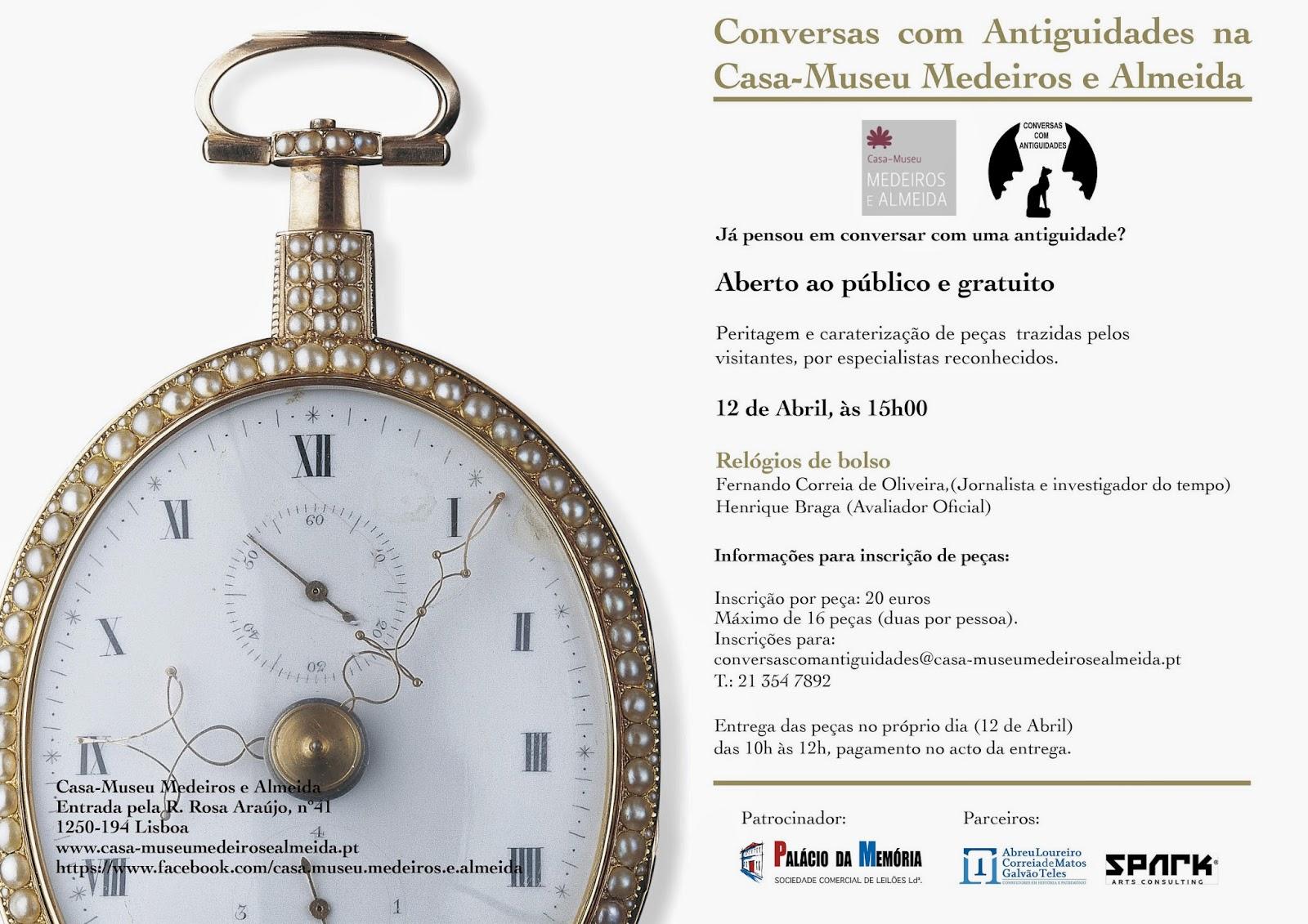 05dc81d0eb1 Estação Cronográfica  Relógios de bolso em análise na Casa-Museu ...