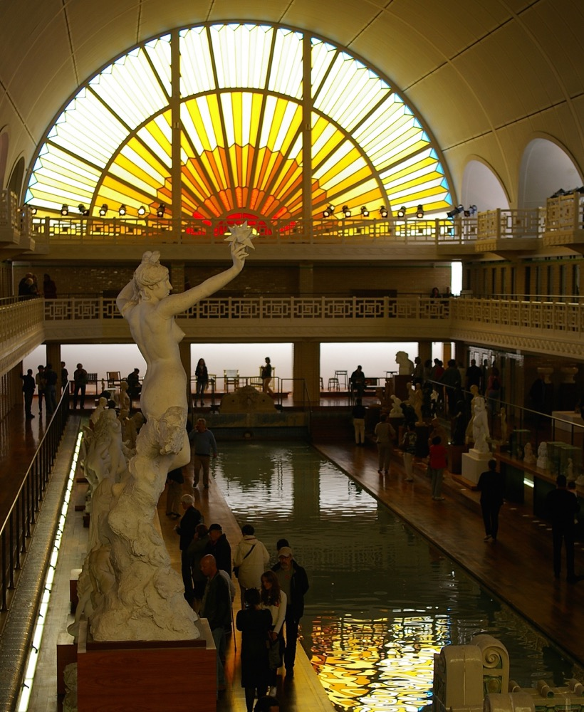 France La Piscine Roubaix  an Art Deco swimming pool filled with art not water  Minor Sights