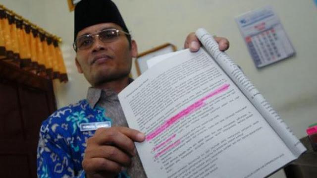Mengerikan!!! Paham Ajaran Membunuh, di Temukan di Buku ...