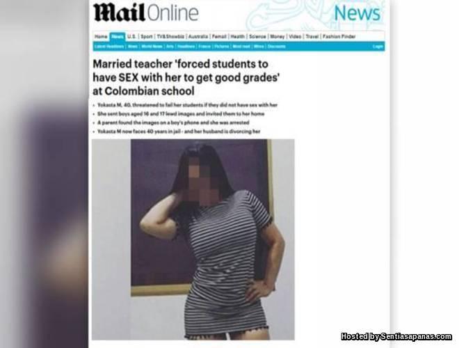 Guru Wanita Paksa Hubungan Intim Jika Mahu Gred Bagus!
