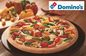 Dominos Gift Voucher worth Rs.500 for Rs.359 Only at Nearbuy