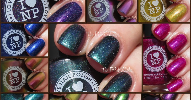 The Polishaholic I Love Nail Polish Summer 2014 Collection Swatches Review