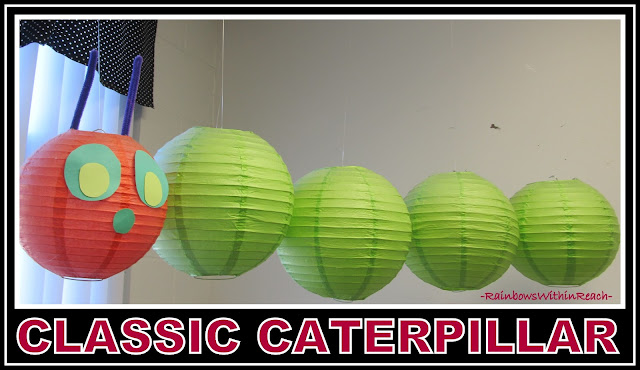 "photo of: Classic ""Hungry Caterpillar"" Display via RainbowsWithinReach"