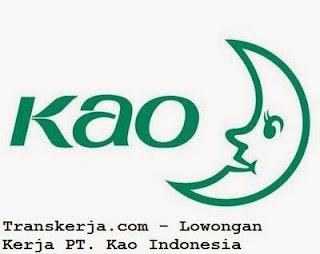 Lowongan Kerja Warehouse Executive PT. Kao Indonesia
