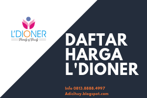 Daftar Harga Produk L'dioner Untuk Member Dan Konsumen