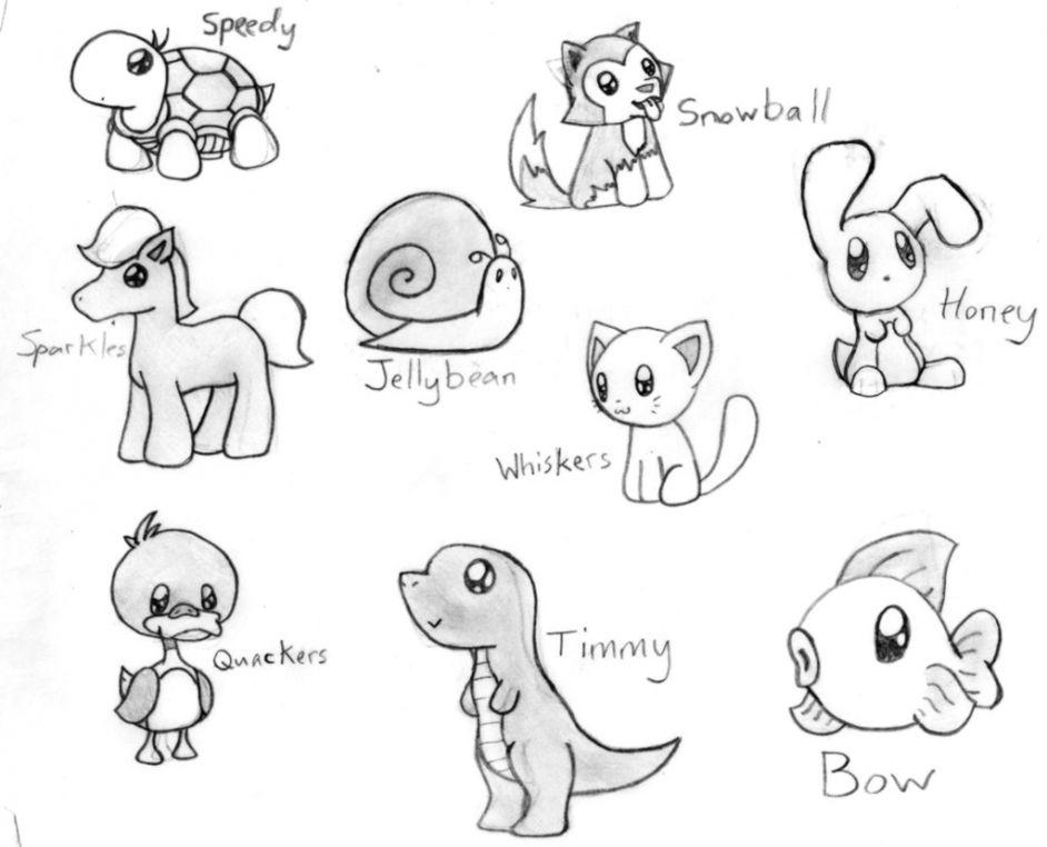 Cute Animal Drawings Tumblr Wallpapers Mhytic