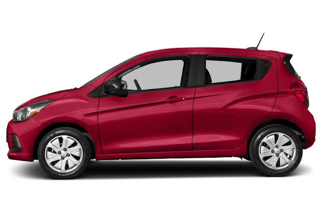 model Chevrolet Spark 2017