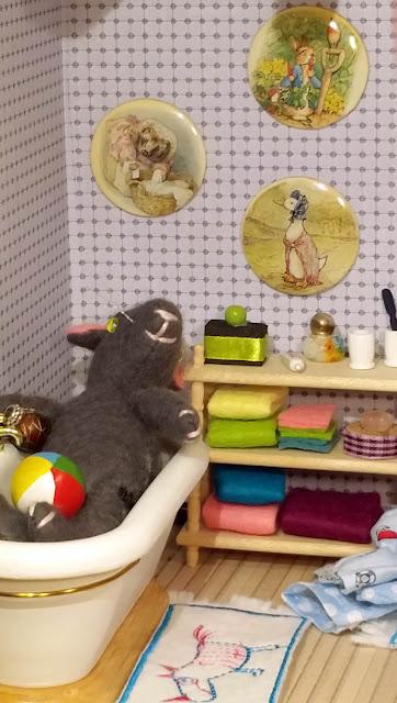 souriceau, baby mouse, carpet, unicorn, licorne