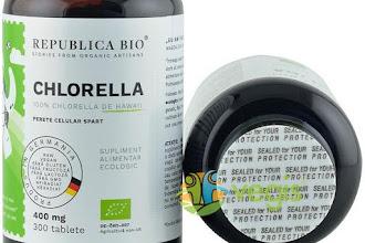 Unde gasesti cea mai buna chlorella certificata ecologic de pe piata?