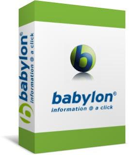 Hướng dẫn cài đặt từ điển Babylon 8.0