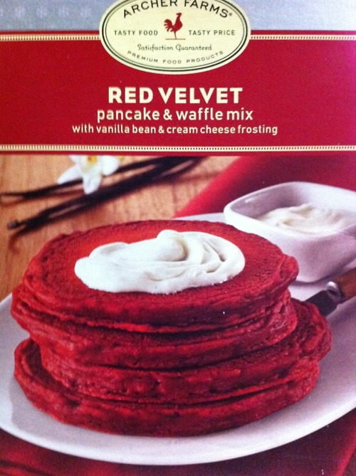 Red Velvet Cake Mix Pancake Recipe