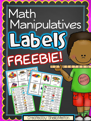 Free Math Labels