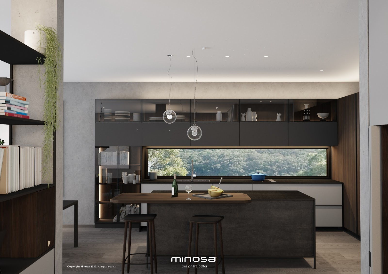 Minosa something a little different kitchen design for Different kitchen designs