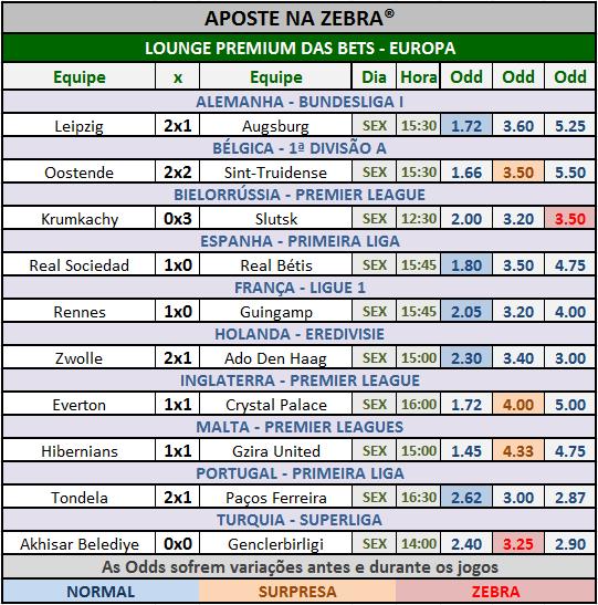 LOTOGOL 832 - GRADE BETS EUROPA 02