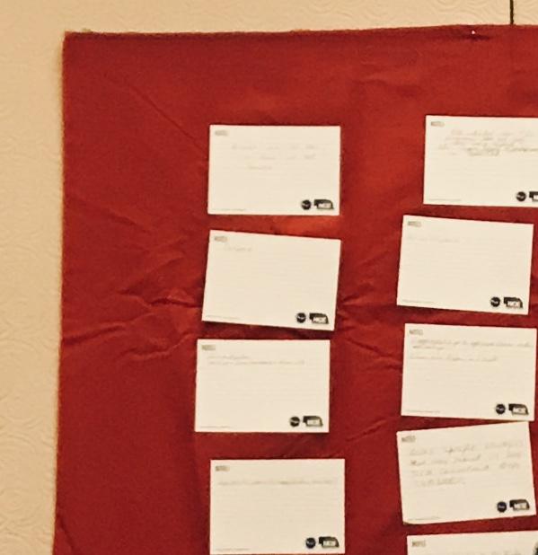 Stick Paper To Sticky Wall