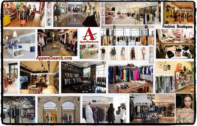 Shopping Fashion Boutiques