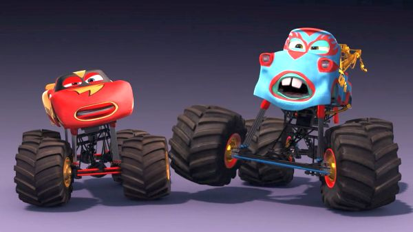 Monster Truck Mater Cars Toons