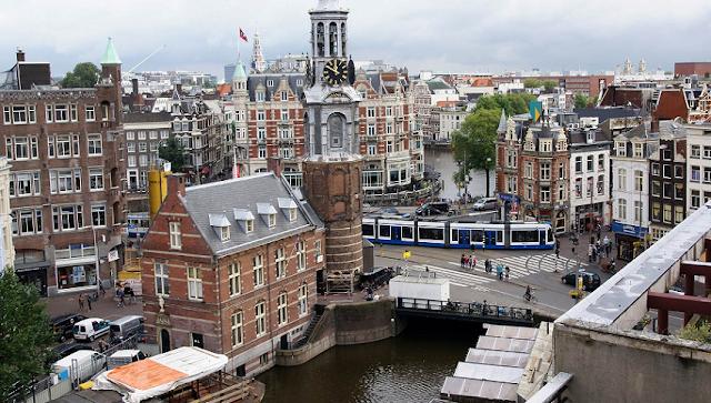 Passagem aérea para Amsterdã