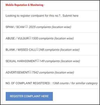 Register Complaint