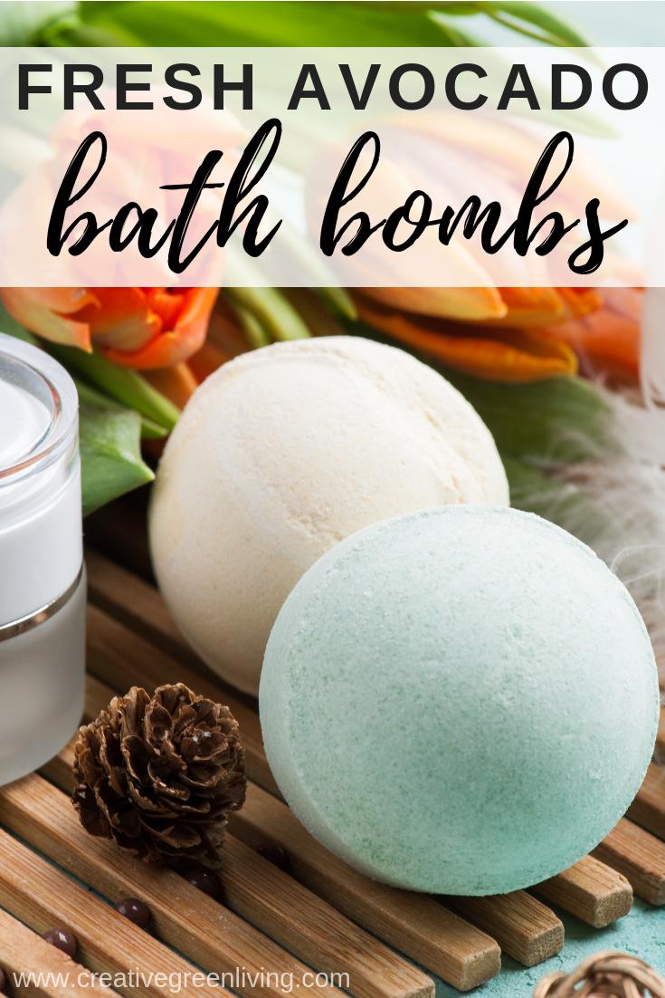 Lush bath bomb recipe without dye - how to make an avocado bath bomb just like lush