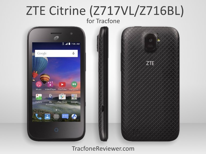 TracfoneReviewer: ZTE Citrine (Z717VL/Z716BL) Review - Tracfone ...