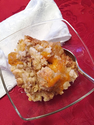 Best Peach Crisp, Ever