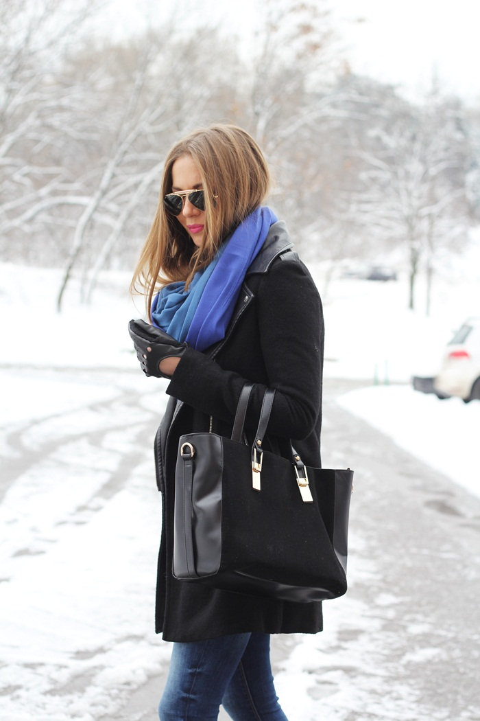 Fashion and style black blue Fashion and style vanja