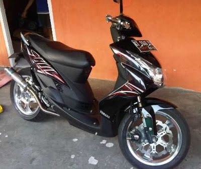Modifikasi Spakbor Depan Mio Soul Modifikasi Motor Kawasaki