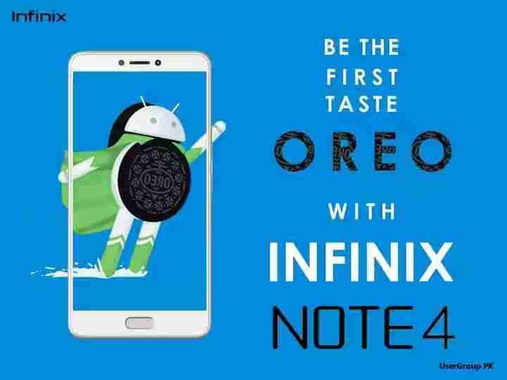 Infinix Note 4 Android 8.1 Oreo + XOS 3.2 Hummingbird Update