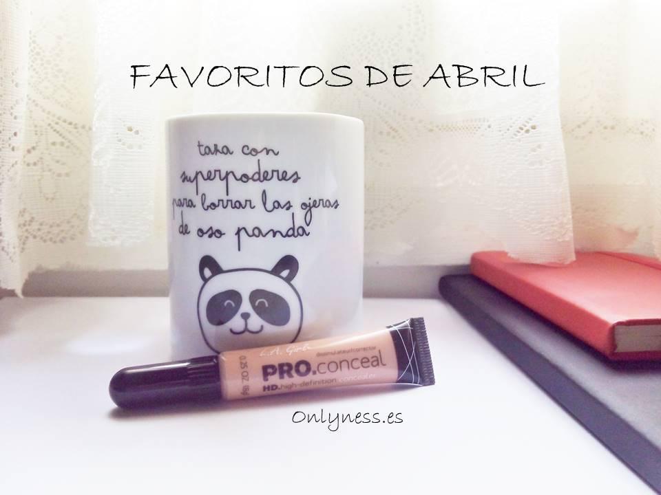 OnlyNess Favoritos de Abril