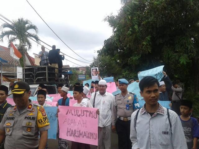 Hari ini, Santri di Kabupaten Tangerang Demo Terkait Puisi Fadli Zon