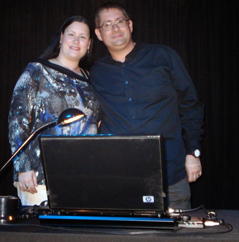 Rafa Quintero y María José Rogel