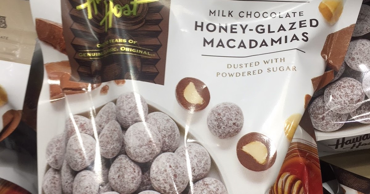 Hawaiian Host Milk Chocolate Honey Glazed Macadamias