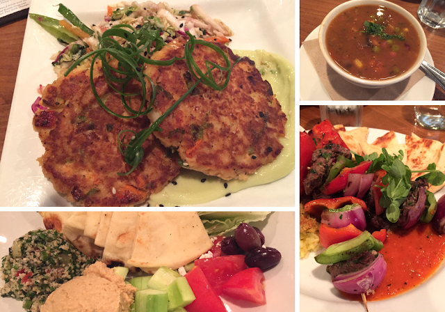 Wholesome dinner options at Good Earth Naturally in Roseville, Minnesota