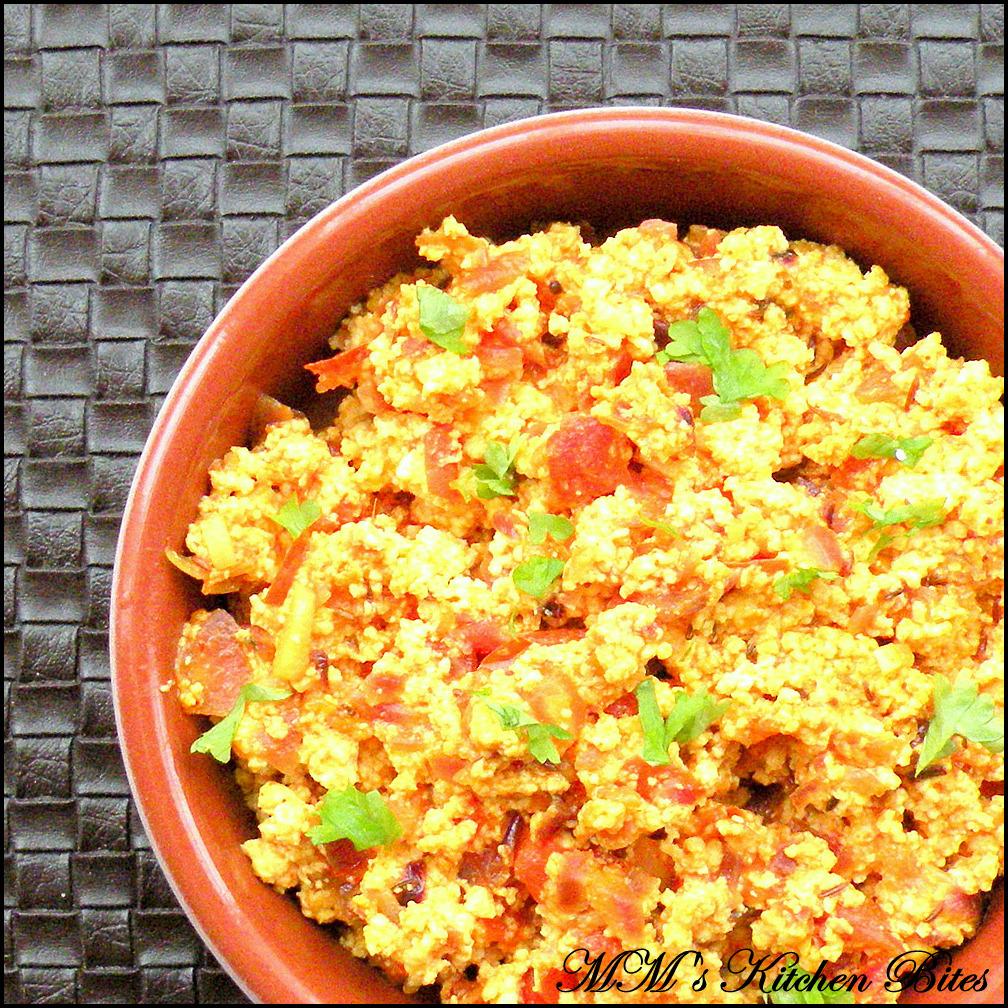 MM's Kitchen Bites: Paneer Bhurji...hard work pays!!!