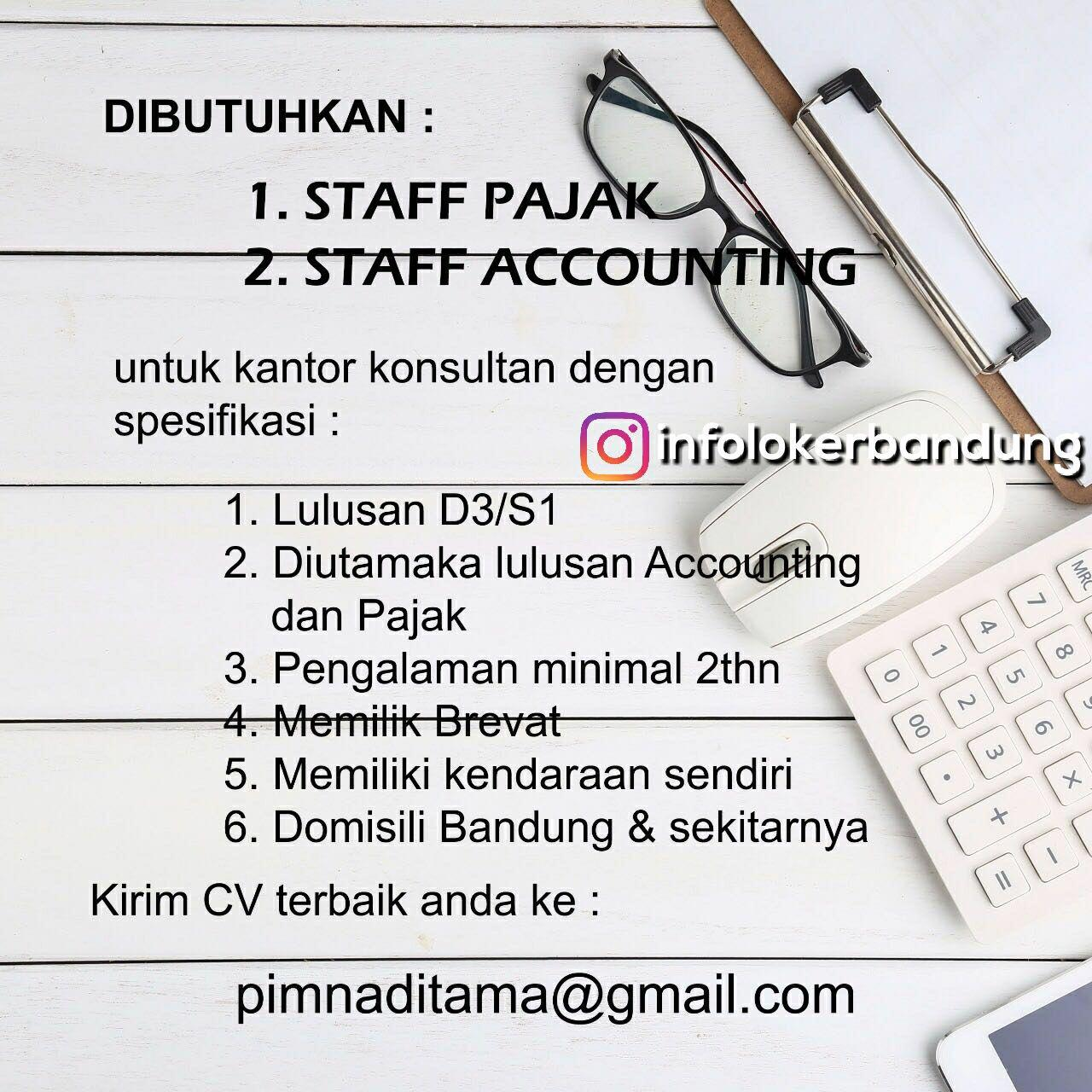 Lowongan Kerja Konsultan Pajak Bandung Januari 2018