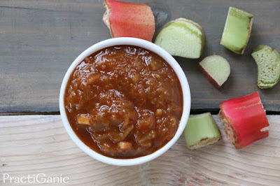 Smoky Rhubarb Barbecue Sauce