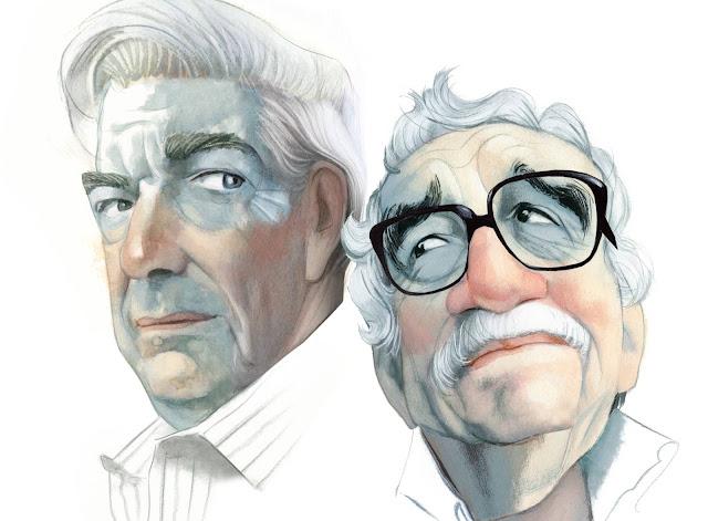 A vuelapluma. García Márquez visto por Vargas Llosa