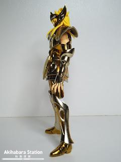 Review del Saint Cloth Myth EX Aquarius Hyoga Gold Cloth de Saint Seiya - Tamashii Nations
