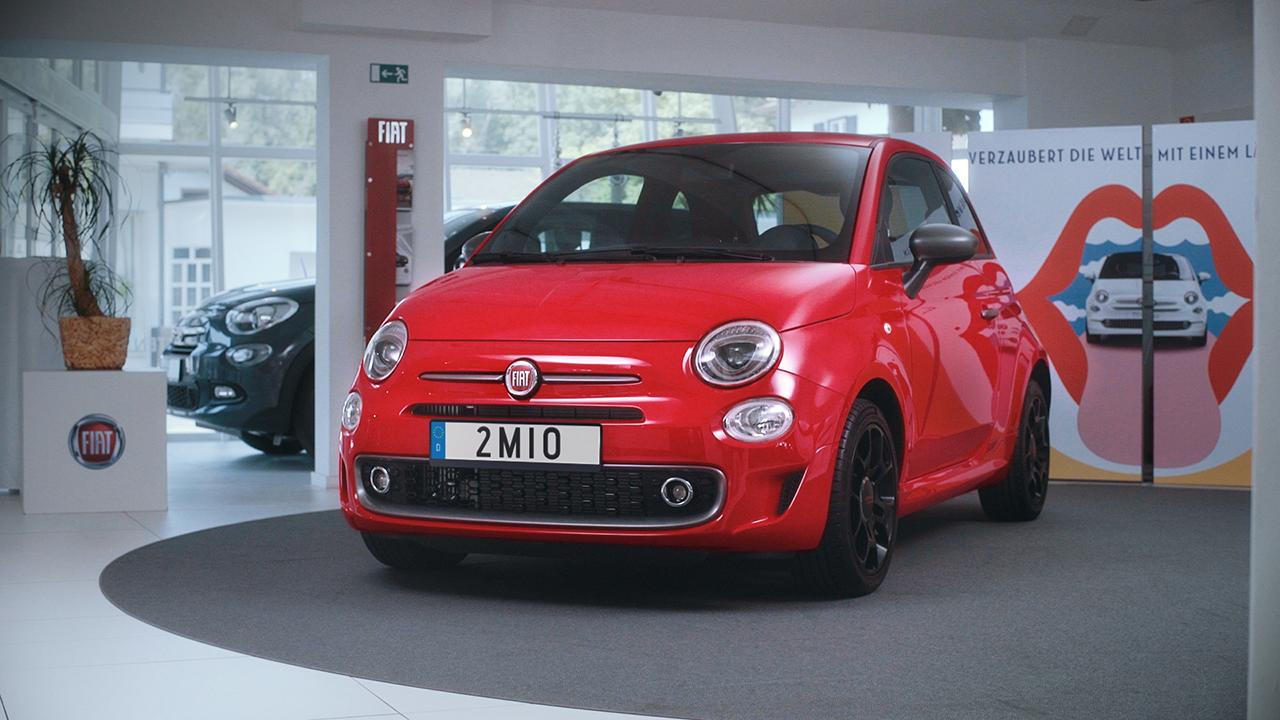Ορόσημο 2 εκατομμυρίων πωλήσεων για το νέο Fiat 500