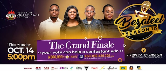 EVENT - BEZALEEL GOSPEL MUSIC COMPETITION GRAND FINALE HOLDS 14TH OCT, 2018