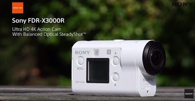 Sony FDR-X3000R Software Download